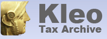 Secure online tax archive