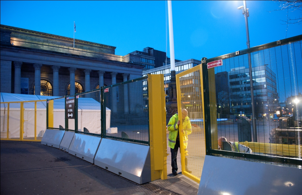 First Uk Use Of High Security Mobile Fencing System