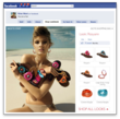 Nine West uses Fluid Fan Shop to effectively merchandise the latest shoe looks on its Facebook Page.