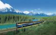 The Rocky Mountaineer Train in the Canadian Rockies