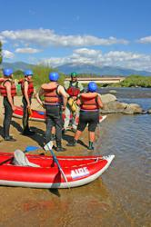 Arkansas River Rafting in Colorado.