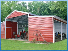 carports, steel buildings