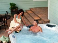 a real hot tub time machine