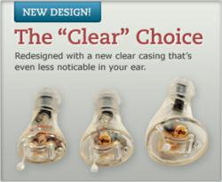 The Clear Choice hearing aid, from HearPod