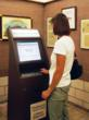 The self-service iLibrary Kiosk in Hugo City Hall in Minnesota allows Washington County Public Library's patrons to browse materials to reserve for pick-up from the LEID's self-service electronic lockers.