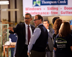 President Obama at Thompson Creek Window Company