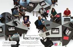 Exchange Collaboration Furniture Concept promoting communication flow