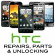HTC Repair, Replacement Parts and Unlocking Services