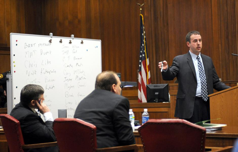 prosecutor and defense attorney relationship