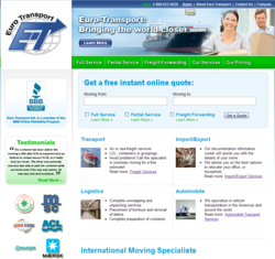 Euro-Transport  Intl. Launches New Website With Enhanced Functionality and User-Friendly Design