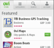 Business Mobile Tracking App from Panaramix on Top of OVI Store