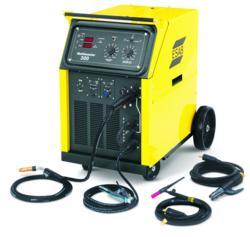 Multiprocess welder, MIG, DC TIG, stick electrode welding