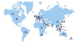 Senetas global partner network