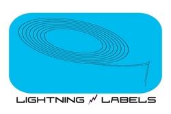 Lightning Labels Logo - Custom Labels, Stickers & Window Decals