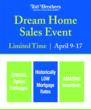 Toll Brothers National Dream Home Sales Event April 9-17