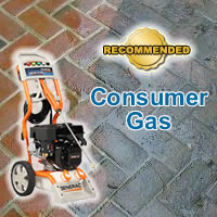 Top Consumer Gas Pressure Washers @ Pressure Washers Direct
