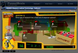 Online Learning Quiz Game