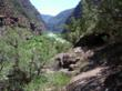 Lodore Canyon. Rafting the Green River in Dinosaur National Monument.