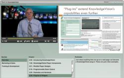 Video marketing and online presentation demo screenshot