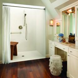 Accessibility, bathware, ADA, ADA-compliant, shower, showers, Aquatic