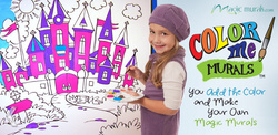 MagicMurals.com Announces Introduction of ColorMe! Coloring Murals