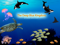 The Deep Blue Kingdom - Learn and Explore the Oceans - Fun and Educational iPad App for Kids