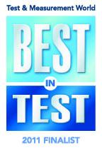 Test & Measurment 2011 Best in Test Finalist