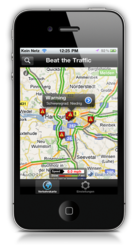 Beat the Traffic iPhone App Now Available in Germany