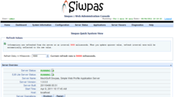 Siwpas Administration Console