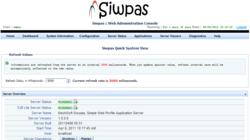Siwpas Administration Console