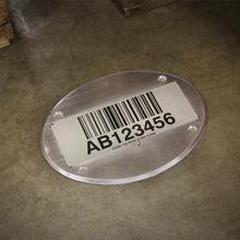 Warehouse Floor Barcode Label