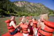 Rafting is one of the many activities available at Glenwood Canyon Resort.