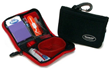 The DentaKit Braces Survival Kit is a handy 4x6 case which securely and neatly holds all the oral hygiene items a person needs when away from home.