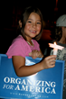 Child at Health Care Vigil in Las Vegas