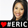 "Thousands of online supporters have added ""# ERIC"" banners to their profile avatars."