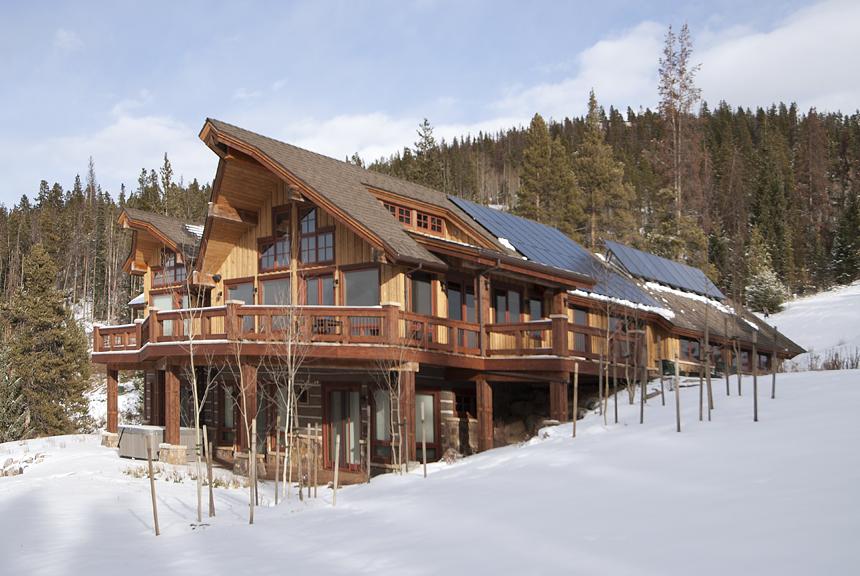 sunshine ridge custom home earns summit county colorado s first leed gold certification. Black Bedroom Furniture Sets. Home Design Ideas