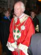 His Royal Highness Prince Victor Emmanuel  of Savoy in the robes of the Grand Master of the Order of Saints Maurice and Lazarus at the Royal Abbey of Hautecombe on March 18, 2007 in Savoy, France.