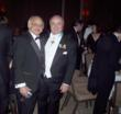 Mr. James T. Vallas of Red Bank, NJ and promoted Uff. Avv. Pasquale Menna, Mayor of Red Bank at the Savoy Gala Benefit Dinner.