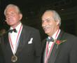 Medalists Hon. Guillermo Linares and George Hamilton
