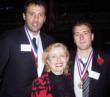 2006 meets 2007: Medalists Vlade Divac, Josip Cermin and Mira Zivkovich