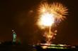 Spectacular fireworks display ends the Ellis Island Event