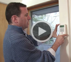 wireless home security easy install video