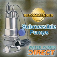Top Submersible Pumps @ Water Pumps Direct