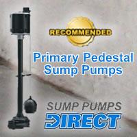 Top Primary Pedestal Sump Pumps @ Sump Pumps Direct