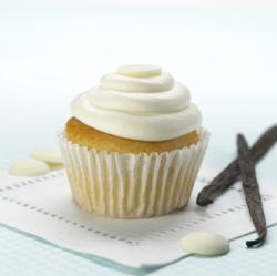 Ticklebelly White Chocolate Cupcake