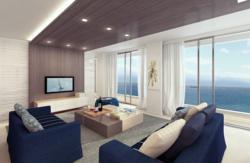 Living Room Interior Design - Beach House Concept
