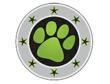 Sarge's Paw Stamp helps military identify people in their trusted military network.