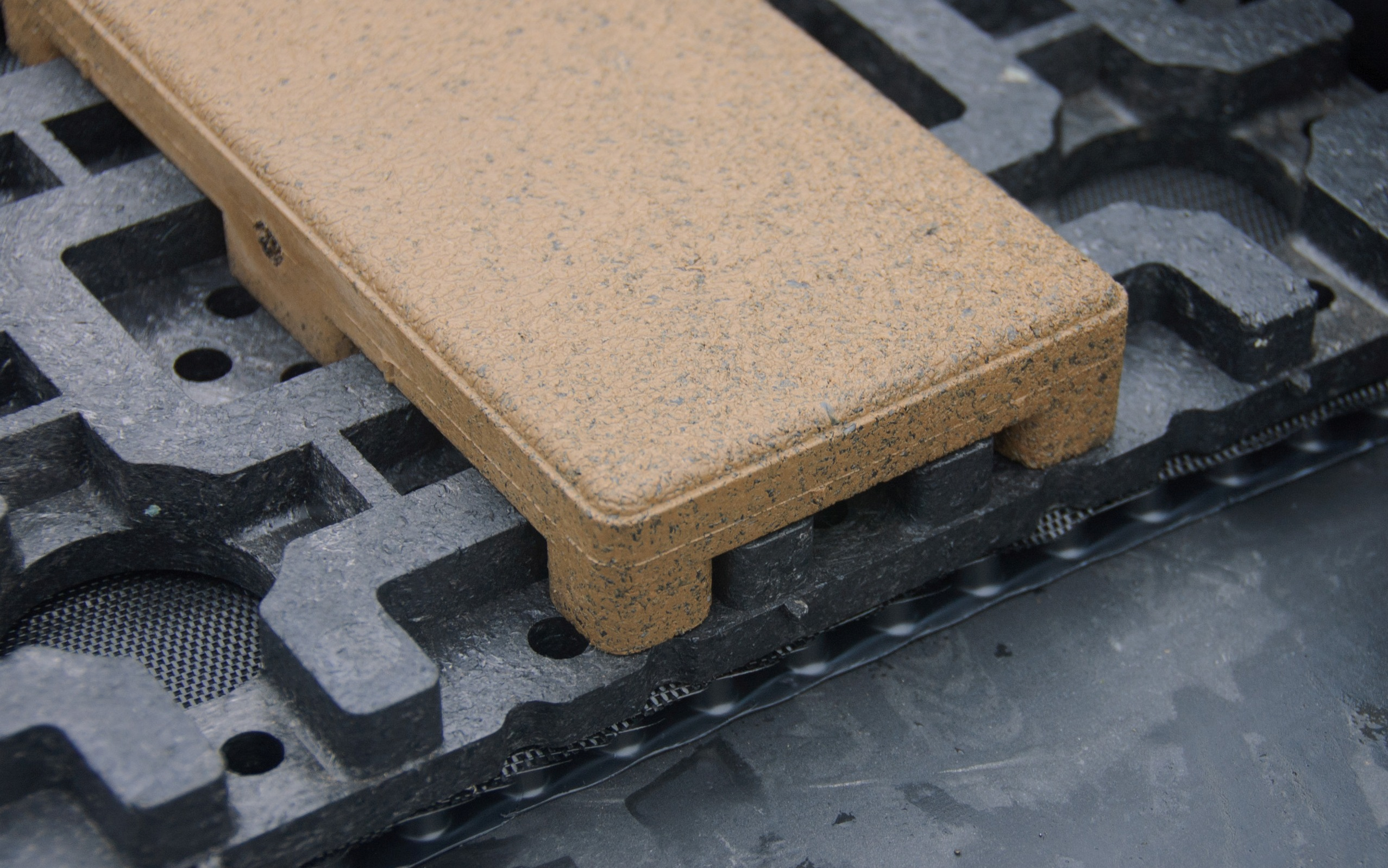 Firestone Skypaver Composite Roof Pavers Selected For