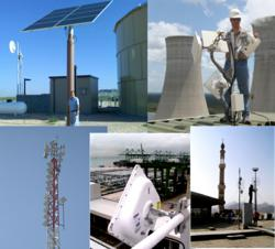 AIRAYA Outdoor WirelessGRID-300 Radio Networks are designed for cirtical high performance Wireless Video and Wireless IP applications
