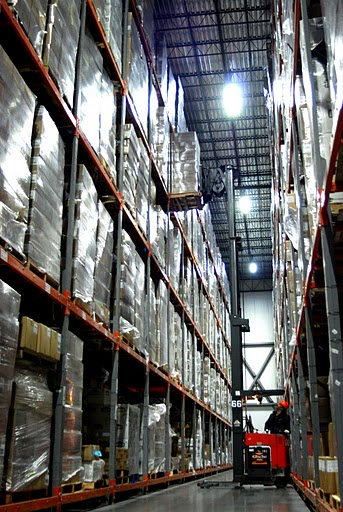 Americold Forklift Operators Enjoy Improved Working Conditions After Smart Energy Led Lighting Retrofitenergy Saving In Cold Storage